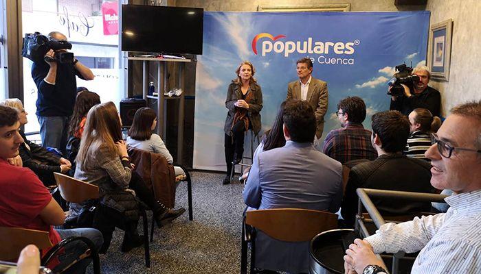 Catalá destaca que el PP de Casado aboga por una sociedad libre en la que los jóvenes tengan todas las garantías para desarrollar sus proyectos de vida