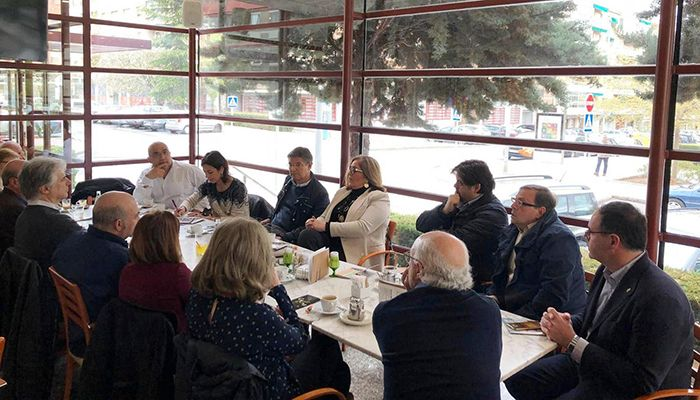 Catalá manifiesta el compromiso del PP y de Pablo Casado con la Cultura ante diversos representantes del sector en la capital