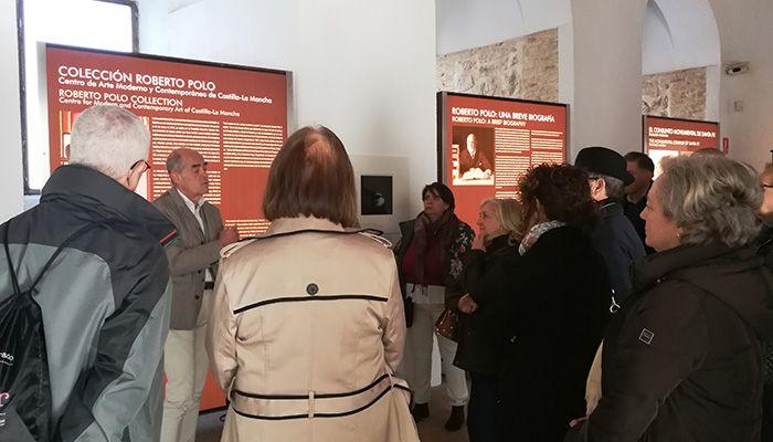 Cuenca Abstracta visita la Colección Roberto Polo