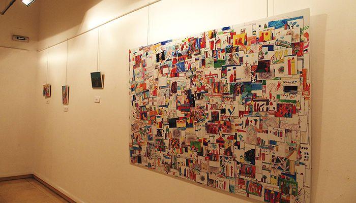 El Centro Cultural Aguirre acoge una exposición con las obras del  VI Concurso de Dibujo Abstracto