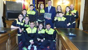 El Club Piragüismo Cuenca con Carácter reconoce a la Diputación de Cuenca por su constante apoyo y promoción del piragüismo