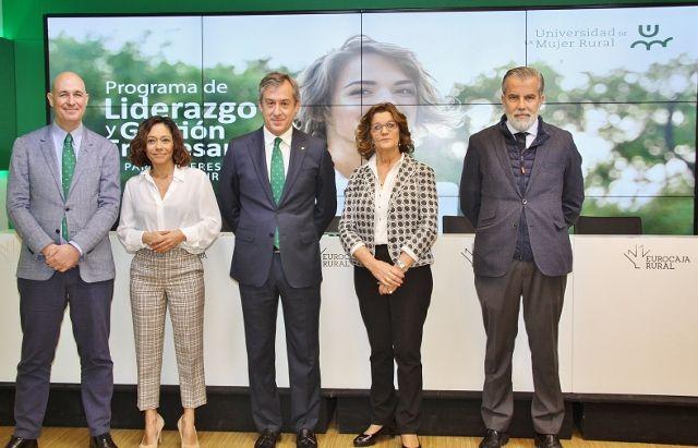 Fundación Eurocaja Rural presenta la IV edición de la Universidad de la Mujer Rural