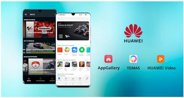HUAWEI lleva con DAZN el deporte en directo a sus smartphones