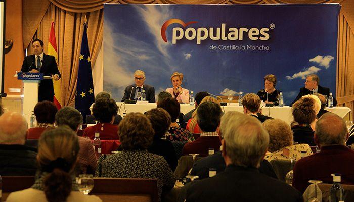 Núñez destaca que sólo el PP y Casado pueden garantizar que la posición de España sea fuerte, hegemónica y respetada en Europa