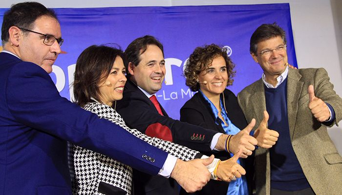 Núñez pide concentrar el voto en torno a Casado para que España tenga un Gobierno capaz y responsable y no uno de Sánchez con Iglesias, Rufián, Puigdemont y Otegui