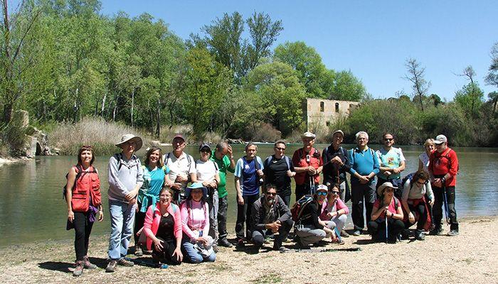 Sisante y El Picazo disfrutaron de una buena jornada del Campus Diputación de Cuenca de Senderismo