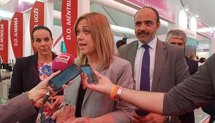 Carmen Picazo propone la creación de una Red de Rutas Enológicas de C-LM