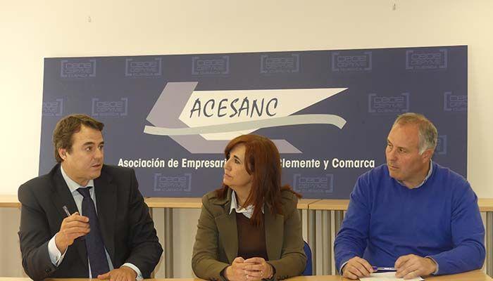 CEOE-Cepyme Cuenca y ACESAN piden al Ayuntamiento de San Clemente colaboración para atraer empresas