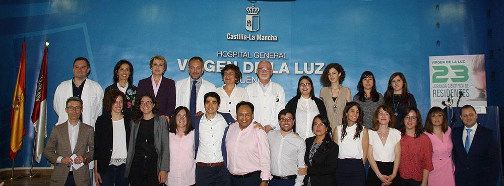 El Área Integrada de Cuenca despide a los dieciséis residentes que finalizan su periodo de formación en el Hospital y los Centros de Salud