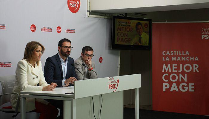 """El PSOE presenta una campaña basada en un """"regionalismo progresista"""" con Page """"como única opción para seguir construyendo una C-LM mejor"""""""