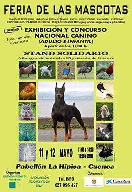 El recindo de La Hípica acogerá durante el fin de semana del 11 y 12 de mayo la Feria de Mascotas