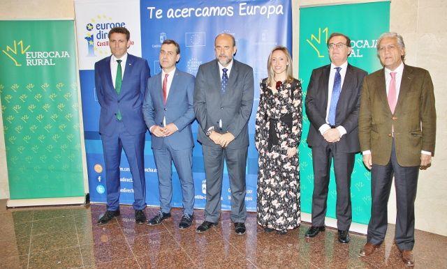 Eurocaja Rural acoge el acto institucional por el Día de Europa