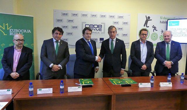 Eurocaja Rural y CEOE-CEPYME Cuenca renuevan su convenio financiero para propiciar la accesibilidad al crédito de los empresarios