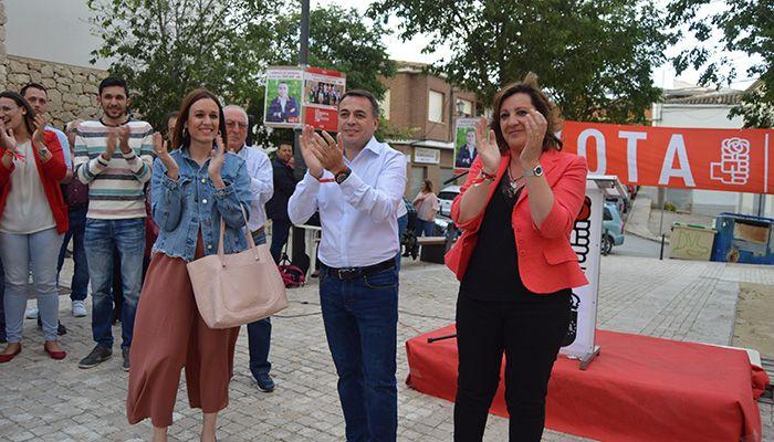 Franco afirma que las políticas de Page han beneficiado a desempleados, empresas y emprendedores en Horcajo de Santiago