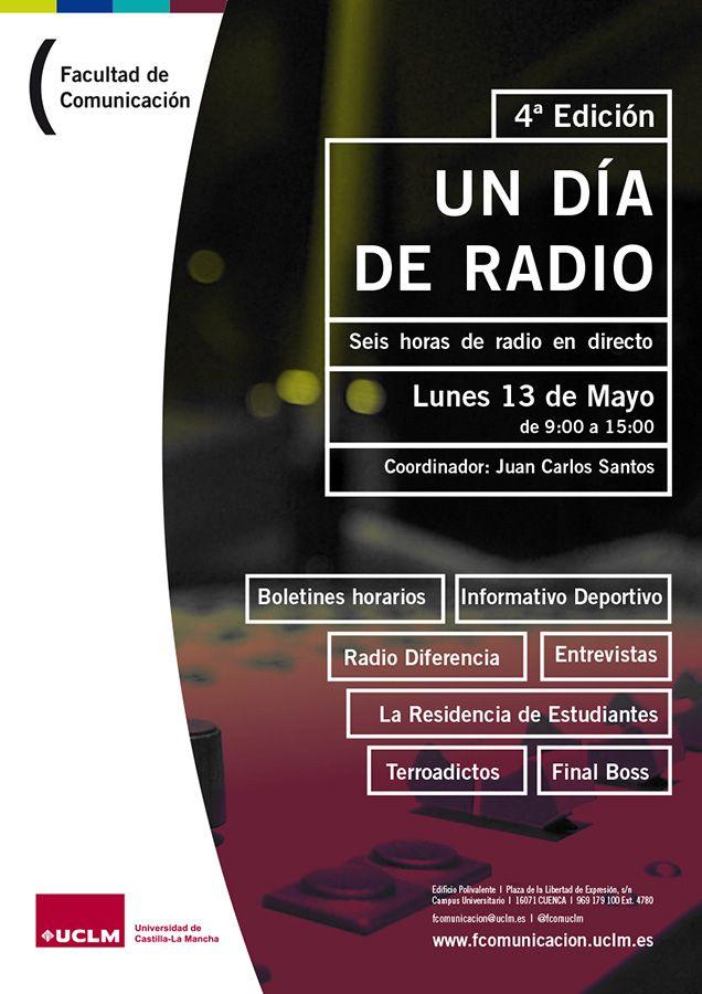 La Facultad de Comunicación dedica el 13 de mayo a la radio con una programación de seis horas en directo