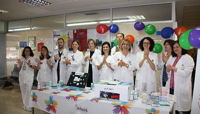 La Gerencia del Área Integrada de Cuenca se suma, un año más, a la promoción de la higiene de manos entre el personal sanitario