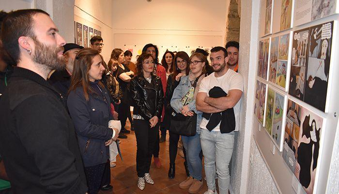 La Junta aplaude la colaboración entre el Museo de Cuenca y la Escuela de Arte Cruz Novillo en la promoción de la cultura