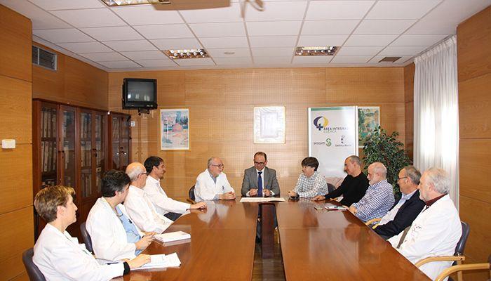 Las Gerencias de las Áreas Integradas de Cuenca y de Albacete suscriben un convenio para la puesta en marcha de Hemodinámica