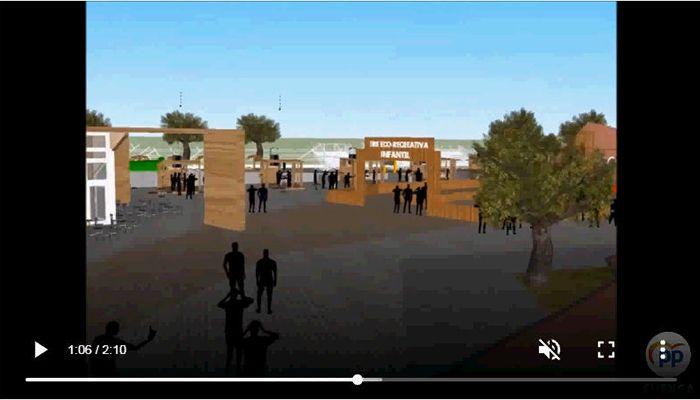 Luz Moya propone un gran centro de ocio al aire libre en la zona del Bosque de Acero