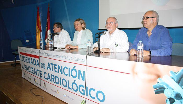 """Más de 170 médicos y profesionales de enfermería, en la I Jornada de Atención al Paciente Cardiológico celebrada en el """"Virgen de la Luz"""""""