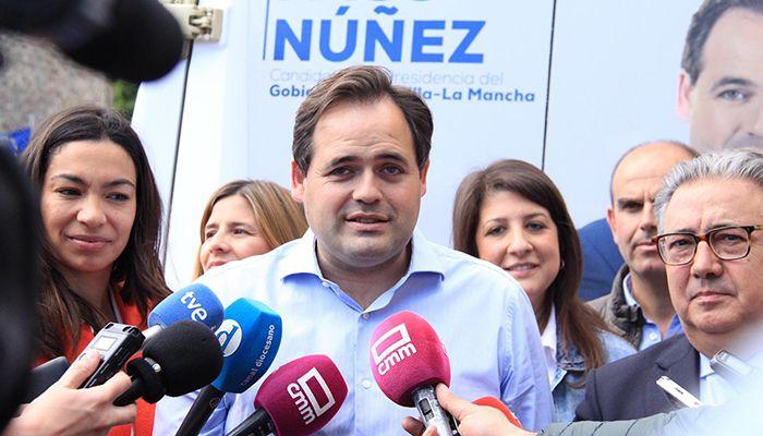 Núñez asegura que Page es un presidente sin credibilidad que ha paralizado la región y merece ir a la oposición para dar paso a un Gobierno del PP que haga avanzar y crecer a CLM