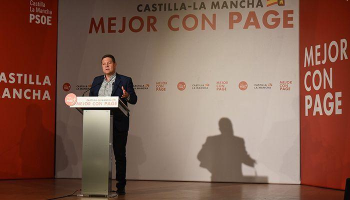 """Page """"El PSOE no es solo el partido de la región, es claramente el partido de la provincia de Cuenca"""""""