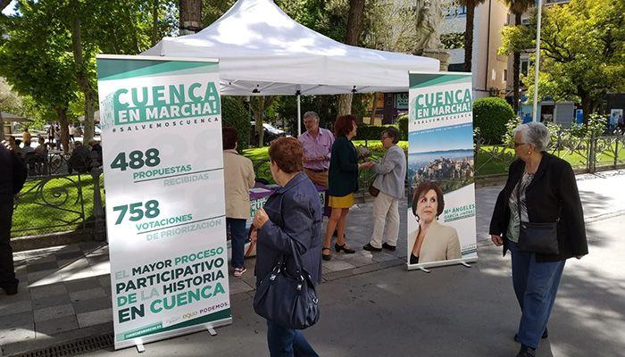 """Podemos-Equo (Cuenca, En Marcha!) comienza su II Ruta del Cambio para """"poner en valor lo que nos une"""""""
