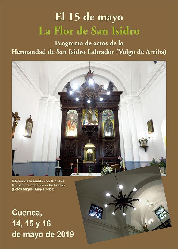 La bendición de la imagen restaurada de la Virgen de la Milagrosa protagoniza los actos en honor a San Isidro Labrador (Vulgo de Arriba) en Cuenca