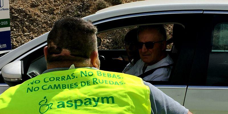 """ASPAYM vuelve a concienciar a los conductores """"La vida es muy bonita y lo importante es llegar"""""""