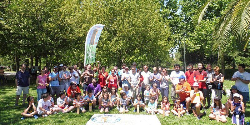 Celebrado el 'I Campeonato de España de Kubb' con la participación de dos conquenses