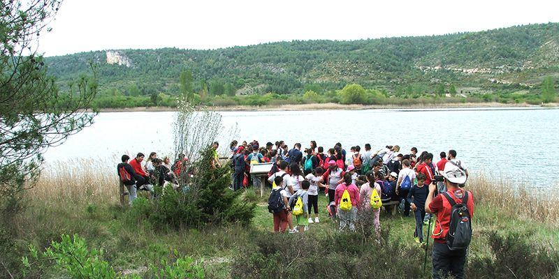 Cerca de un millar de alumnos de Cuenca han disfrutado de las actividades de senderismo del Programa Somos Deporte 3-18