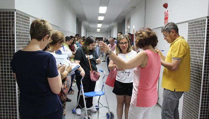 El 79,21 de los llamados a ocupar una de las 1.050 plazas al Cuerpo de Maestros participan en el proceso de oposición