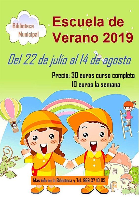 El Ayuntamiento de Huete organiza una escuela de verano en la biblioteca municipal