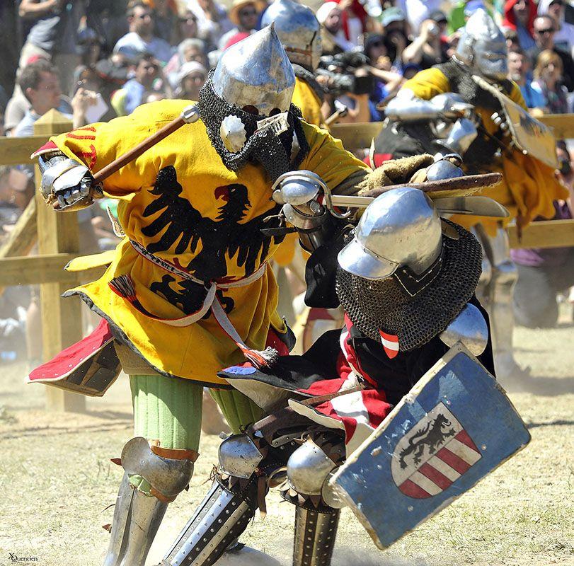 El Castillo de Belmonte albergará por segunda vez el Campeonato Mundial de Combate Medieval