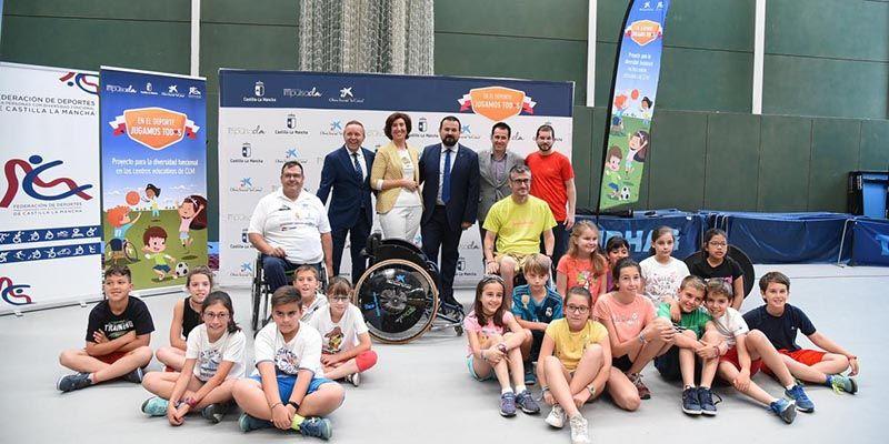 """El Gobierno regional, la Fundación Impulsa y la Obra Social 'la Caixa' estrechan lazos para potenciar """"el respeto y la aceptación de la diferencia"""" en el deporte"""