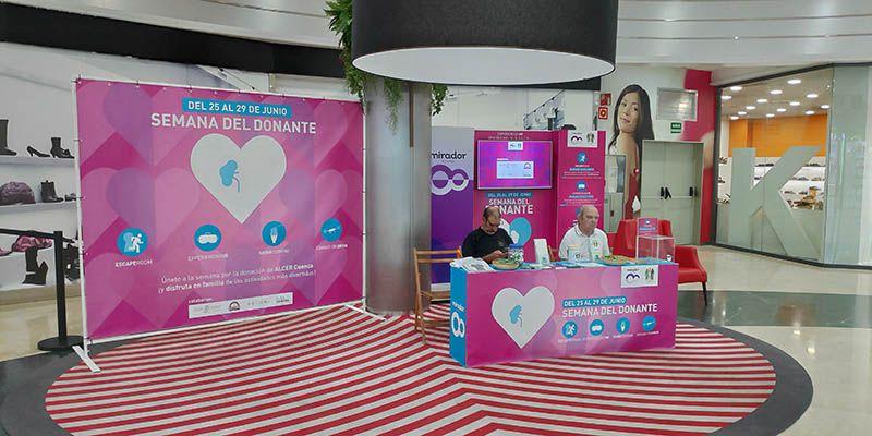 El Mirador de Cuenca acoge la IV Edición de la Semana del Donante con multitud de actividades