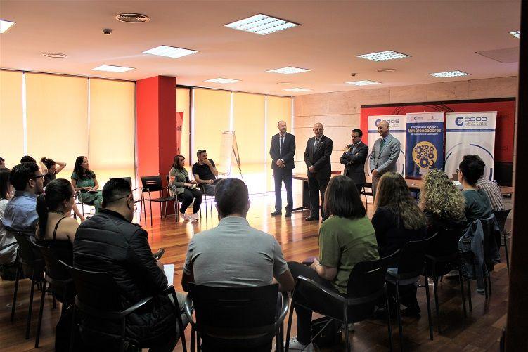 Eurocaja Rural participa en el programa de CEOE CEPYME Guadalajara de apoyo a emprendedores