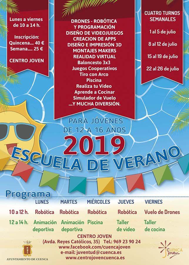 La Escuela de Verano Junior de Cuenca ofrece numerosas actividades para disfrutar las vacaciones de manera divertida