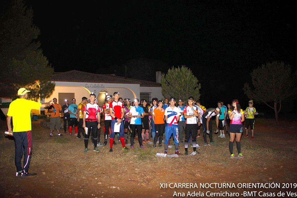 Javier García gana la XII Carrera Nocturna de Orientación en Motilla del Palancar