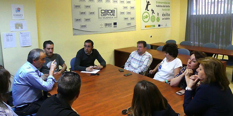 Julián Saiz Garrote seguirá cuatro años más al frente de la Asociación de Libreros y Papeleros de Cuenca