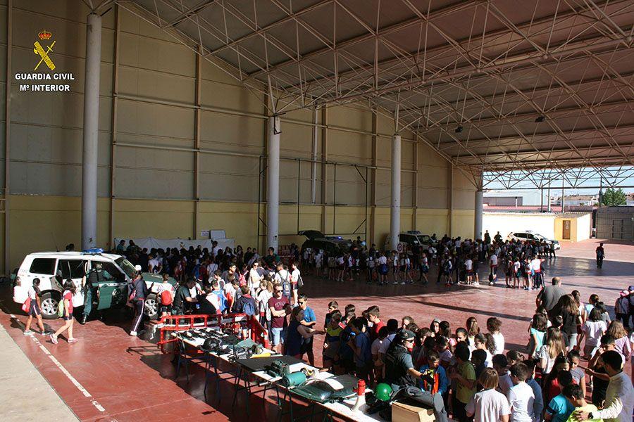 La Guardia Civil, dentro de los actos conmemorativos del 175º Aniversario, clausura el Plan Director con una exhibición y exposición en Tarancón