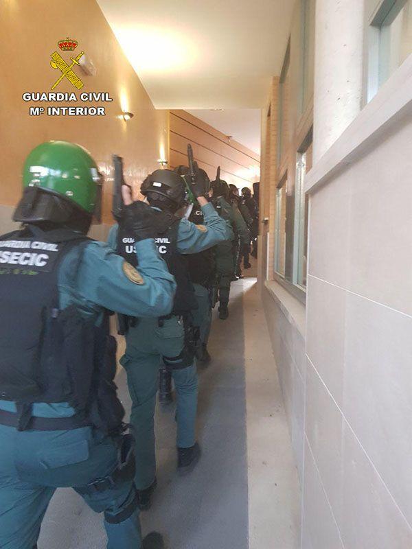 La Guardia Civil desarticula un grupo criminal dedicado a la de venta de droga en Tarancón