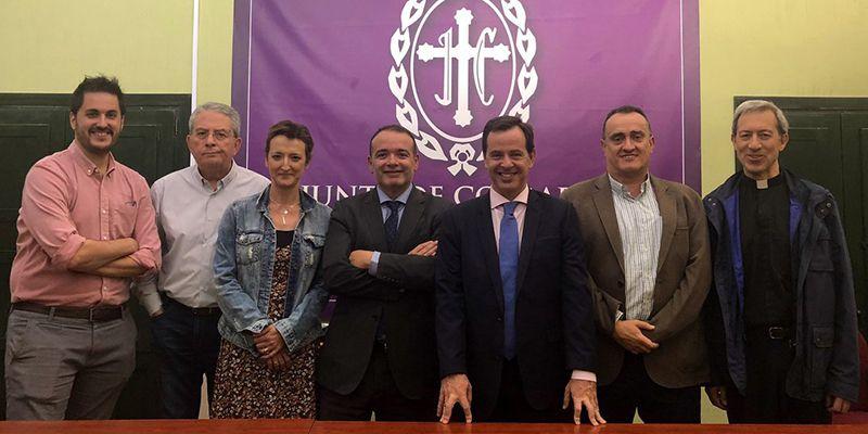 La Junta General respalda la gestión de Sánchez Albendea y lo ratifica como presidente de la Junta de Cofradías