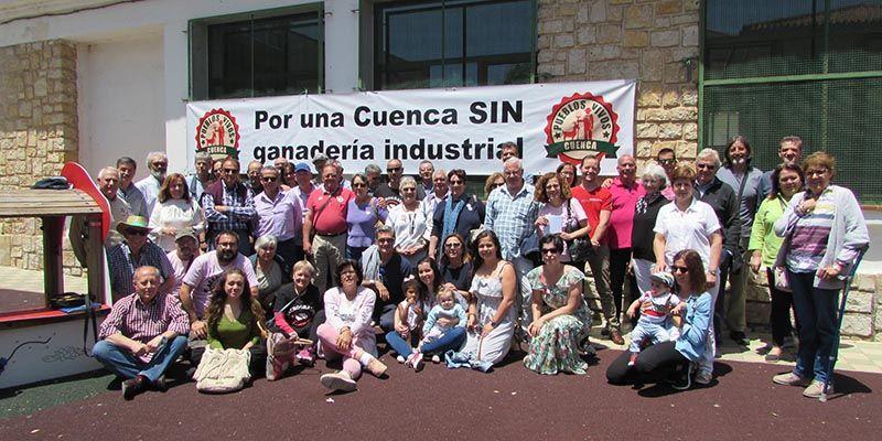 La plataforma Pueblos Vivos Cuenca inicia con fuerza un nuevo periodo en su carrera contra la ganadería industrial