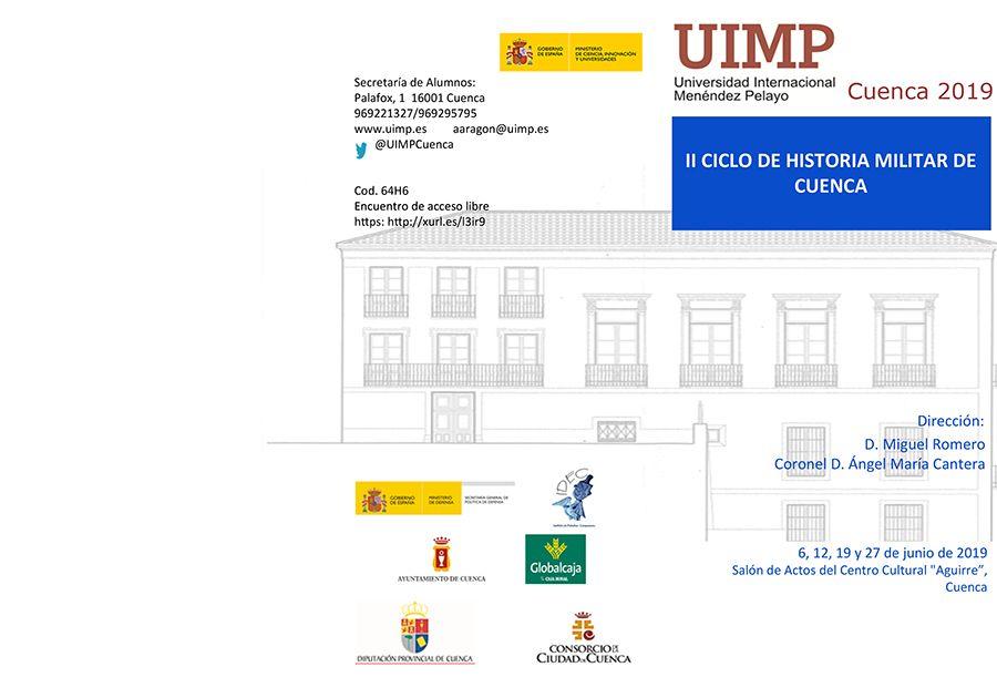 """La sede de la UIMP en Cuenca celebra el """"II Ciclo de Historia Militar"""", en torno a la figura de Alonso de Ojeda-1"""