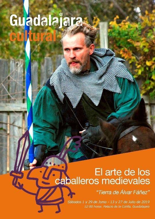 Nuevas sesiones del taller familiar El arte de los caballeros organizadas por el Ayuntamiento de Guadalajara