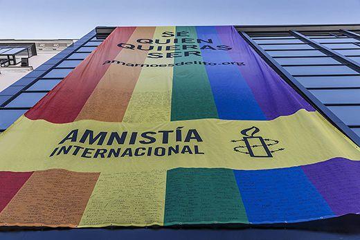 """""""Sé quien quieras ser"""" Amnistía Internacional apoya las movilizaciones del Orgullo en Castilla-La Mancha"""
