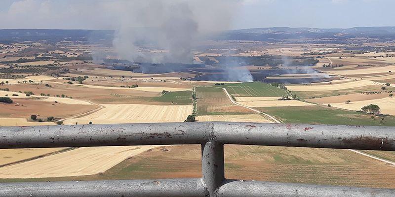 Carta de agradecimiento a todas las personas que participaron en la extindión del incendio de Castejón