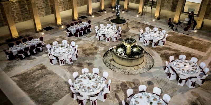 Cena concierto en el claustro del convento de Jesús y María de Huete