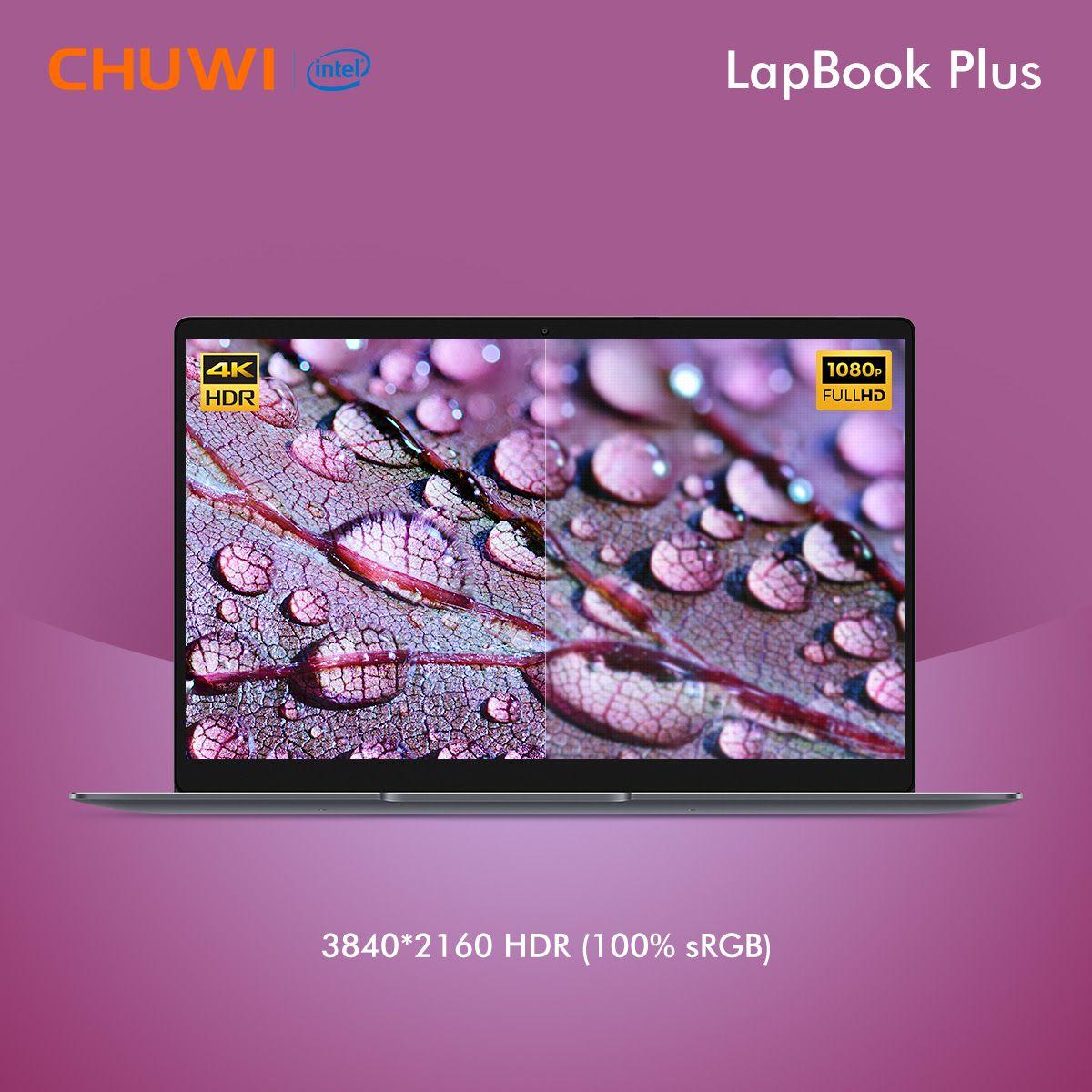 Chuwi Lapbook Plus-4K Laptop se lanza oficialmente por menos de 500 dólares